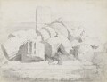 Classical ruins at Selinonte, attributed to John Partridge - NPG 3944(21)