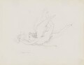 A putto pursuing a butterfly, by John Gibson - NPG 3944(31)