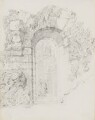 Rustic archway, attributed to John Partridge - NPG 3944(35)