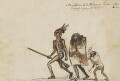 An Indian of ye Outawas Tribe & his Family going to War, by George Townshend, 4th Viscount and 1st Marquess Townshend - NPG 4855(72)