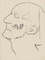 Frederick Delius, by Ernest Procter - NPG 4975(5)