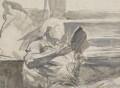 William Ewart Gladstone, by Sydney Prior Hall - NPG 2228