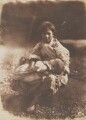 Fisher Lassie and Child, by David Octavius Hill, and  Robert Adamson - NPG P6(201)