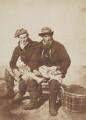 Two Fishermen, by David Octavius Hill, and  Robert Adamson - NPG P6(210)