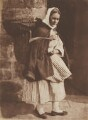 Home from Market, by David Octavius Hill, and  Robert Adamson - NPG P6(216)