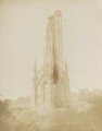 The Scott Monument (during its erection), by David Octavius Hill, and  Robert Adamson - NPG P6(258)