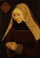 Unknown woman, formerly known as Lady Margaret Beaufort, Countess of Richmond and Derby, by Unknown artist - NPG 1488