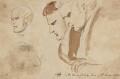 Four heads, by Sir George Hayter - NPG 2662(15)