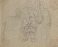 George Agar-Ellis, 1st Baron Dover; Henry Petty-Fitzmaurice, 3rd Marquess of Lansdowne, by Sir George Hayter - NPG 2662(22)