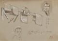 Gallery rails, by Sir George Hayter - NPG 2662(30)