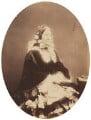 Probably Mary Russell (née Burrowes), by (George) Herbert Watkins - NPG P301(43)