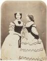 Catherine ('Katey') Elizabeth Macready Perugini (née Dickens); Mamie Dickens, by (George) Herbert Watkins - NPG P301(72)