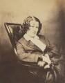 Eliza Cook, by (George) Herbert Watkins - NPG P301(102a)