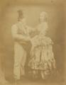 Barney Williams (Bernard Flaherty); Maria Williams (née Pray), by (George) Herbert Watkins - NPG P301(159)