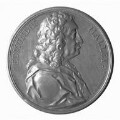 Edmond Halley, by Jacques Antoine Dassier - NPG 6235