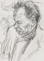 Frank Auerbach, by Peter Saunders - NPG 6245
