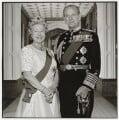 Queen Elizabeth II; Prince Philip, Duke of Edinburgh, by Terry O'Neill - NPG P551