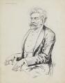 Francesco Berger, by Harry Furniss - NPG 6251(6)