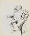 Sir (George) Anderson Critchett, 1st Bt, by Harry Furniss - NPG 6251(13)