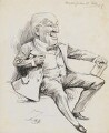 Sir Charles Frederick Gill, by Harry Furniss - NPG 6251(20)