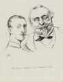 Napoléon, Prince Imperial; Napoléon III, Emperor of France, by Harry Furniss - NPG 6251(43)