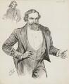 Albert Richard Smith, by Harry Furniss - NPG 6251(57)