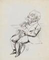 Sir Ernest Spencer, by Harry Furniss - NPG 6251(59)
