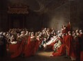 The Death of the Earl of Chatham, by John Singleton Copley - NPG L146