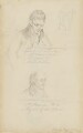 Sir John Soane; John Flaxman, by Thomas Cooley - NPG 4913b