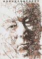 Seamus Heaney, by Ross Wilson - NPG 6262(2)