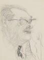 Gilbert Harding, by Feliks Topolski - NPG 6328