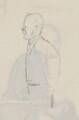 John Galsworthy, by Sir David Low - NPG 4529(135a)