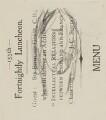 Sir Edmund William Gosse, by Sir David Low - NPG 4529(141a)