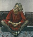 Germaine Greer, by Paula Rego - NPG 6351