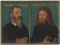 Gerlach Flicke; Henry Strangwish (Strangways), by Gerlach Flicke - NPG 6353