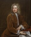 Edmond Halley, attributed to Isaac Whood - NPG 6377