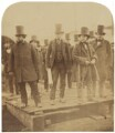 Isambard Kingdom Brunel preparing the launch of 'The Great Eastern', by Robert Howlett - NPG P663