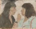 Dame Beryl Bainbridge; Bernice Ruth Rubens, by Gordon Stuart - NPG 6409