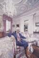 John Major; Norma Major, by John Wonnacott - NPG 6402