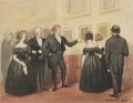 Sir Robert Peel, 2nd Bt showing his pictures, by Jemima Blackburn (née Wedderburn) - NPG 2772(28a)