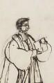 Edward Bouverie Pusey, by Clara Pusey - NPG 4541(7b)