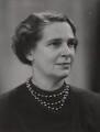 Mary Ethel Florey (née Hater Reed), Baroness Florey, by Elliott & Fry - NPG x89254