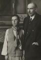 John Maynard Keynes, 1st Baron Keynes of Tilton; Lydia Lopokova, by Walter Benington, for  Elliott & Fry - NPG x90117