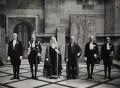 Group including Douglas Clifton Brown, Viscount Ruffside, by Elliott & Fry - NPG x90718