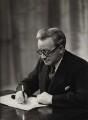 Herbert Stanley Morrison, Baron Morrison of Lambeth, by Elliott & Fry - NPG x90725