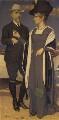 Joseph Edward Southall; Anna Elizabeth Southall, by Joseph Edward Southall - NPG 7020