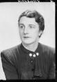 Dame Janet Maria Vaughan, by Elliott & Fry - NPG x95093