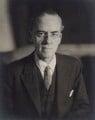 Sir Stafford Cripps, by Walter Stoneman - NPG x163690
