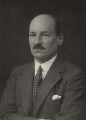 Clement Attlee, by Walter Stoneman - NPG x163783