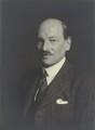 Clement Attlee, by Walter Stoneman - NPG x163784